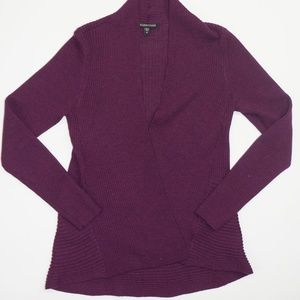Eileen Fisher Purple Merino Wool Sweater